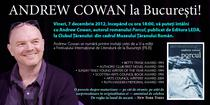 Andrew Cowan la Bucuresti