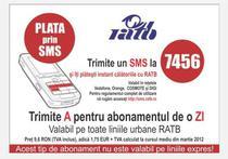 Plata prin SMS in Bucuresti