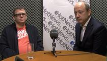 Iulian Comanescu si Stefan Iordache in studioul HotNews.ro