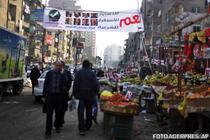 Banner in Cairo: Da pentru constitutie, stabilitate, Sharia