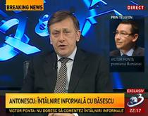 Antonescu si Ponta, la Antena 3