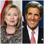 Hillary Clinton si John Kerry
