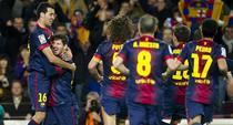 Messi, doua goluri contra lui Atletico