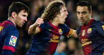 Messi, Puyol si Xavi