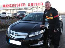 Sir Alex Ferguson alaturi de Chevrolet Volt