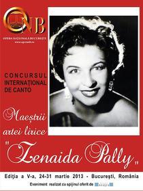 "Concurs International de Canto ""Zenaida Pally"""