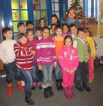 Copiii de la centrul Sf. Dimitrie