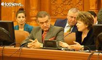 Gigi Becali si Ministrul Justitiei, Mona Pivniceru