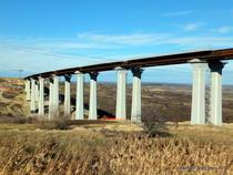Viaductele de la Aciliu si Sacel (A1)