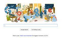 Logo Google de Anul nou