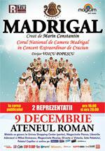 Corul Madrigal in concert la Ateneul Roman