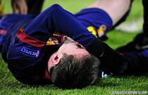 Lionel Messi, accidentat