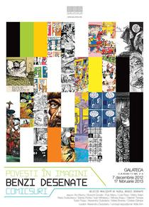 "Expozitia ""Povesti in imagini, benzi desenate, comicsuri"""