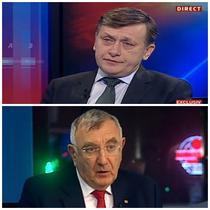Crin Antonescu si Andrei Chiliman