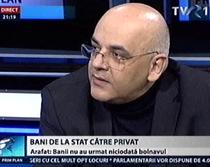 """Raed Arafat invitat la """"Prim Plan"""""""
