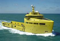 Nava de aprovizionare a platformelor de foraj marin (Santierul Damen Galati)