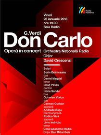 Concert 'Don Carlo' la Sala Radio