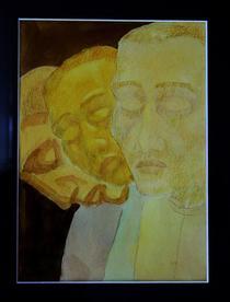 Pictura realizata de un pacient anonim al clinicii psihiatrice din Zwiefalten