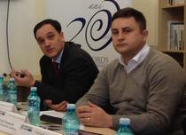 Calin Rangu (CIO Council) si Todi Pruteanu (Microsoft Romania)