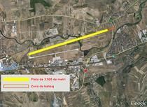 Pista aeroportului din Cluj-Napoca si centura ocolitoare