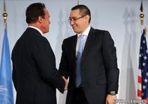 Ponta s-a intalnit cu Schwarzenegger la Viena