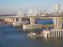 Podul Calafat-Vidin (decembrie 2012)