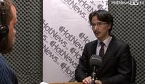 Judecatorul Cristi Danilet in studioul HotNews.ro