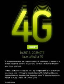 Invitatie eveniment 4G