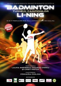 Li-Ning Turneul Campionilor Badminton