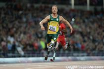 Oscar Pistorius, in timpul Jocurilor Paralimpice