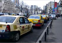 Taximetrist: Va spun, aproape toti soferii din companie umbla la aparat