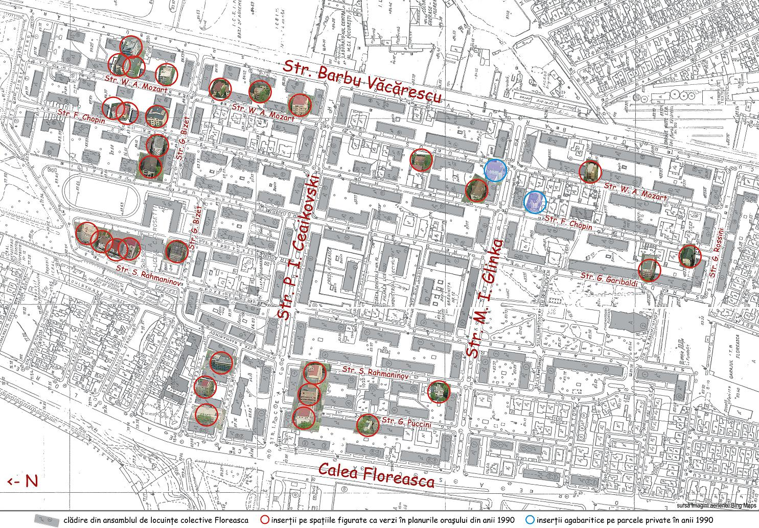 Floreasca site plan