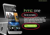 Mesajul HTC Romania
