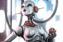 Robot la feminin
