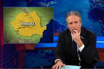 Jon Stewart si Romania