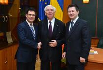 Remus Pricopie, Mircea Malita si Mihnea Costoiu