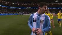 Messi, din nou fara gol la nationala