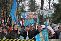 Miting pentru autonomie la Targu Mures