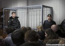 Boxa goala unde trebuia sa fie acuzatul (11 martie 2013)