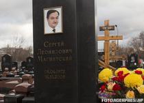 Mormantul lui Magnitsky dintr-un cimitir moscovit
