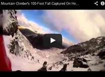 Cadere de la 30 de metri a unui alpinist