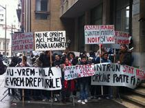 Protest Primaria sector 5