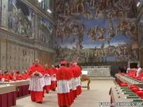 A inceput Conclavul pentru desemnarea viitorului papa