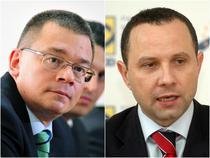 Mihai Razvan Ungureanu si Aurelian Pavelescu
