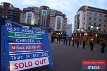 Chelsea vs Steaua, pe Stamford Bridge