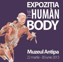 Afis expozitia The Human Body
