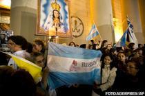 Bucurie la Buenos Aires dupa anuntarea noului Papa (13 martie)