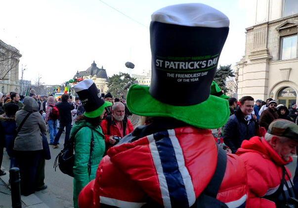 Parada de Saint Partick's Day