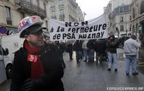 Proteste ale sindicatelor la Paris (14 februarie)