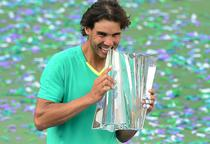 Rafael Nadal, invingator la Indian Wells